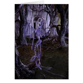 Spooky Greetings Card