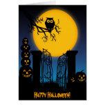 Spooky Halloween 4 Card