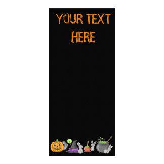 Spooky Halloween Bunnies Rack Card