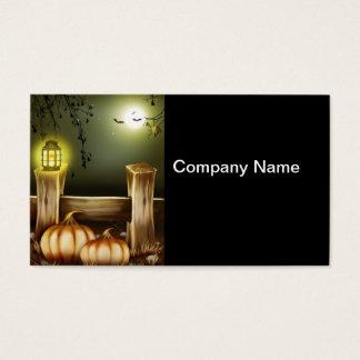 Spooky Halloween Business Card
