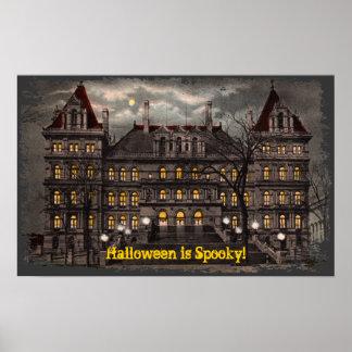 Spooky Halloween Canvas Print