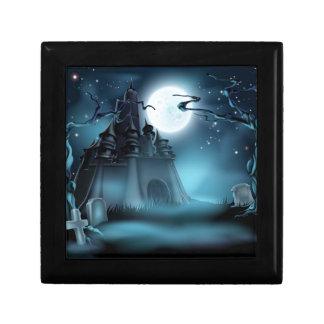 Spooky Halloween Castle Keepsake Boxes