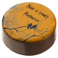 spooky Halloween crows Oreo cookies Chocolate Covered Oreo