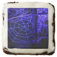 Spooky Halloween Forest Square Brownie