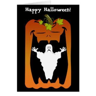 Spooky Halloween, Greeting Card