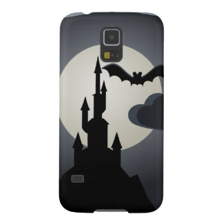 Spooky Halloween Haunted House on Hill Cases For Galaxy S5