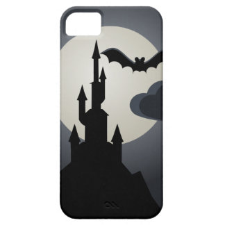 Spooky Halloween Haunted House on Hill iPhone SE/5/5s Case