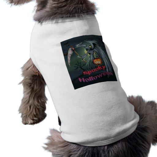 spooky Halloween Haustier T-shirt