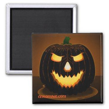 Halloween Themed Spooky halloween Jack-o-fear magnet