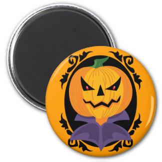 Spooky Halloween Jack-o-Lantern Magnet Refrigerator Magnet