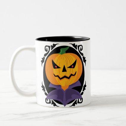 Spooky Halloween Jack-o-Lantern mug