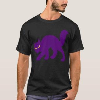 Spooky Halloween Kitty Cat Scary Evil T-Shirt