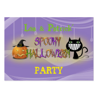 spooky Halloween Large Business Cards (Pack Of 100)