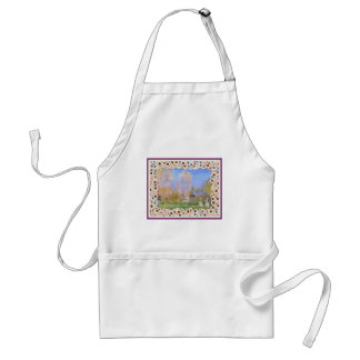 Spooky Halloween Monet Springtime In Giverny Standard Apron