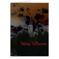Spooky Halloween Night Card