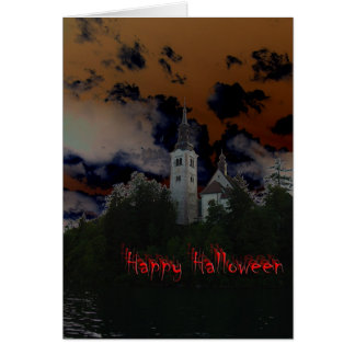 Spooky Halloween Night Card