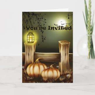 Spooky Halloween Night Invitation