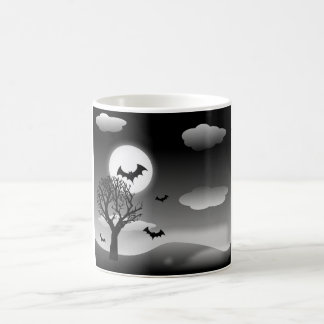 Spooky Halloween Nighttime Landscape Coffee Mug