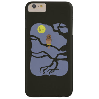 Spooky Halloween Owl Barely There iPhone 6 Plus Case