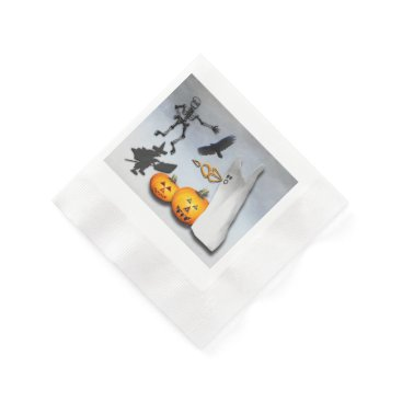 Halloween Themed Spooky Halloween Paper Napkin
