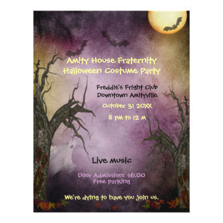 Spooky Halloween Party Flyer