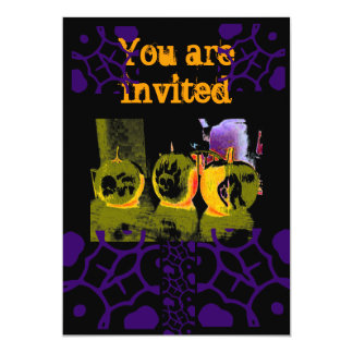 Spooky Halloween Party Invite