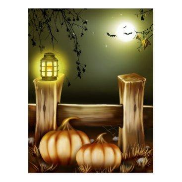 zzl_157558655514628 Spooky Halloween Postcard