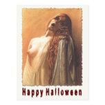 Spooky Halloween Postcard Scare