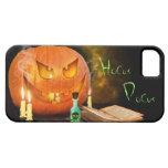 Spooky Halloween Pumpkin iPhone 5 Case-Mate Case