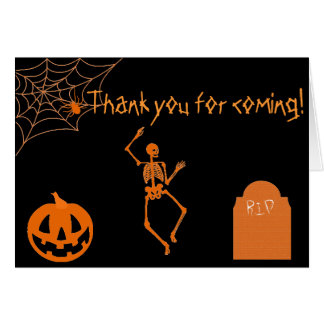 Spooky Halloween Thank You Cards