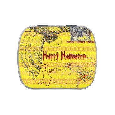 Halloween Themed Spooky Happy Halloween Jelly Belly Tin