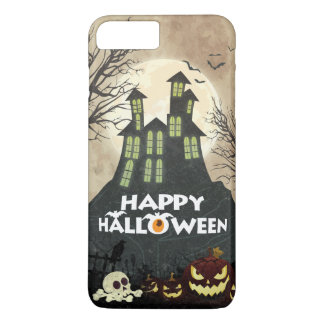 Spooky Haunted House Costume Night Sky Halloween iPhone 8 Plus/7 Plus Case