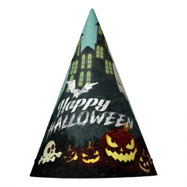 Halloween Themed Spooky Haunted House Costume Night Sky Halloween Party Hat