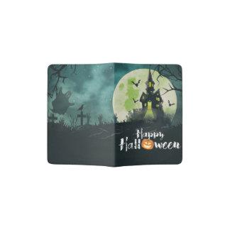 Spooky Haunted House Costume Night Sky Halloween Passport Holder