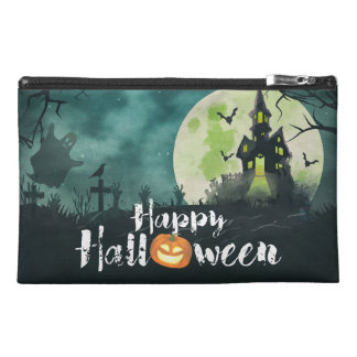 Spooky Haunted House Costume Night Sky Halloween Travel Accessory Bags
