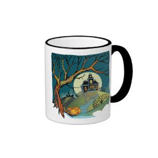 Spooky Haunted House Coffee Mug