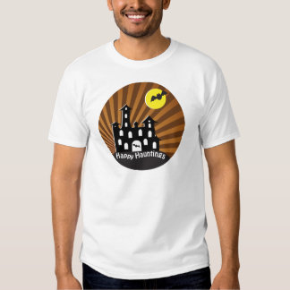Spooky Haunted House Tee Shirts