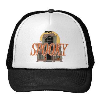 Spooky Haunted House Trucker Hat