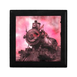 Spooky Haunted Locomotive Jewelry Boxes