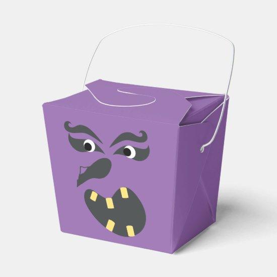 Spooky Heads Halloween Set Favor Box