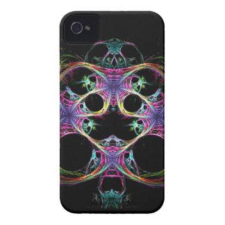 Spooky Heart Fractal iPhone 4 Case-Mate Case