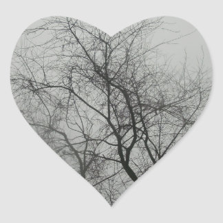 Spooky Heart Sticker