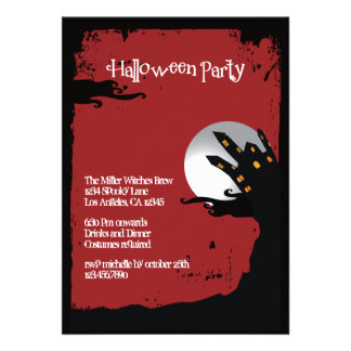 Spooky Hill Halloween Party Invitation