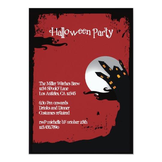 Spooky Hill Halloween Party Invitation