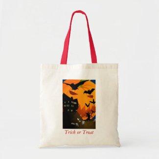 Spooky House Bag bag