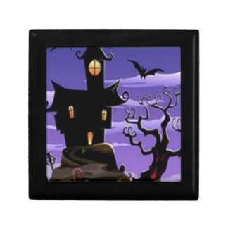Spooky house design jewelry boxes