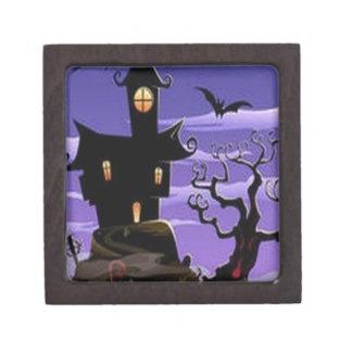 Spooky house design premium gift boxes