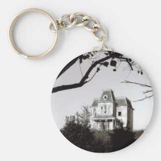 Spooky House on the Hill Keychain