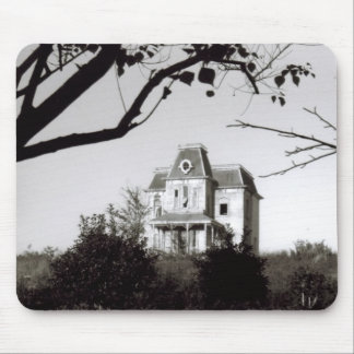 Spooky House on the Hill Mouse Pad