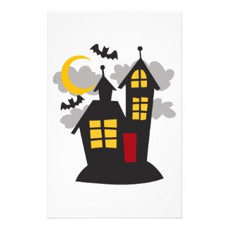 Spooky House Stationery